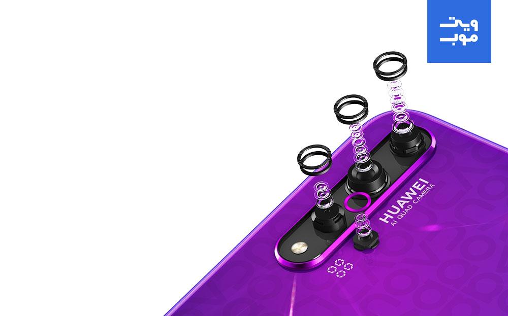 گوشی موبایل هوآوی مدل Nova 5T دو سیم کارت ظرفیت 128 گیگابایت