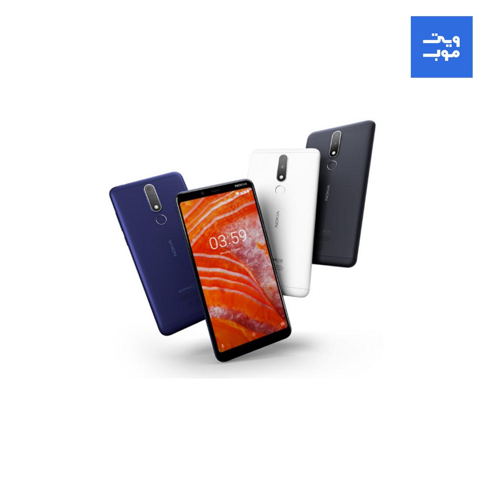 گوشی موبایل نوکیا 3.1 پلاس دو سیم کارت با ظرفیت 32 گیگابایت