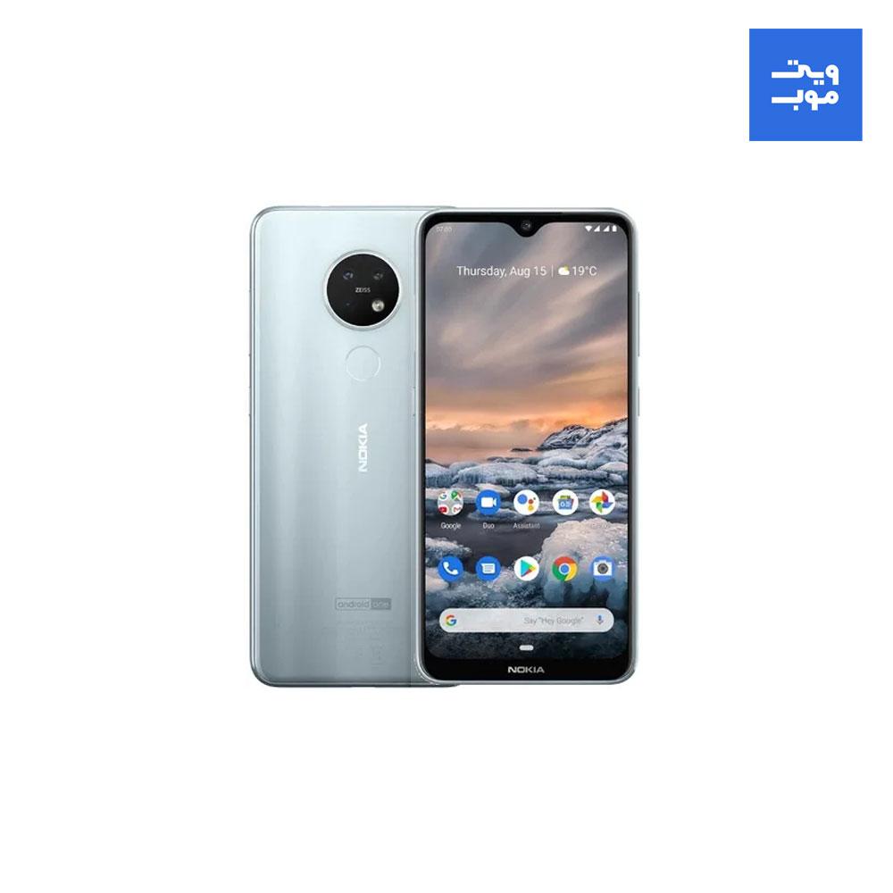 گوشی موبایل نوکیا مدل 7.2 دو سیم کارت ظرفیت 128 گیگابایت همراه با رم 6 گیگابایت