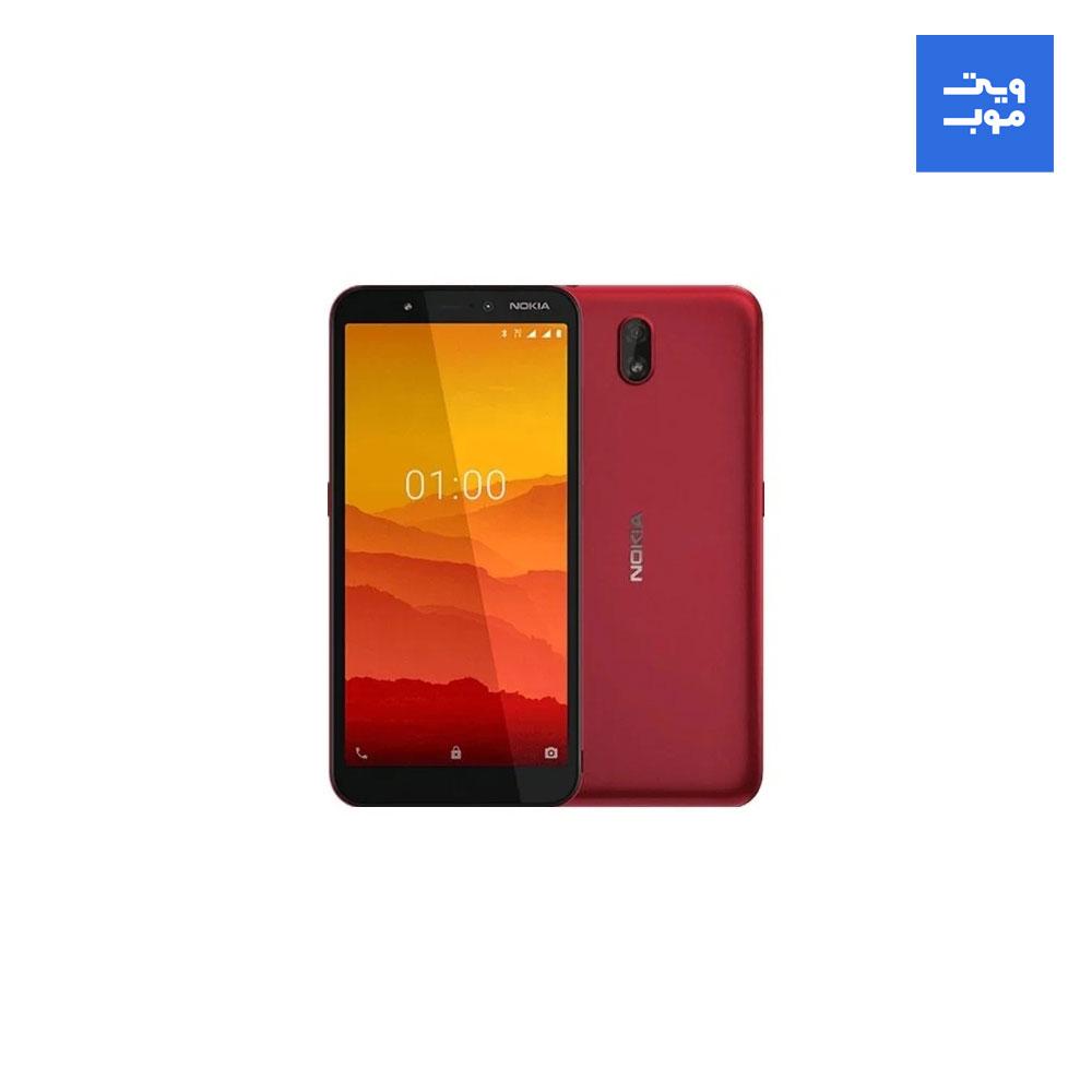 گوشی موبایل نوکیا مدل C1 دوسیم کارت ظرفیت 16 گیگابایت