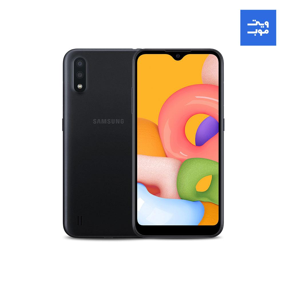 گوشی موبایل سامسونگ مدل Galaxy A01 دو سیم کارت ظرفیت 16 گیگابایت