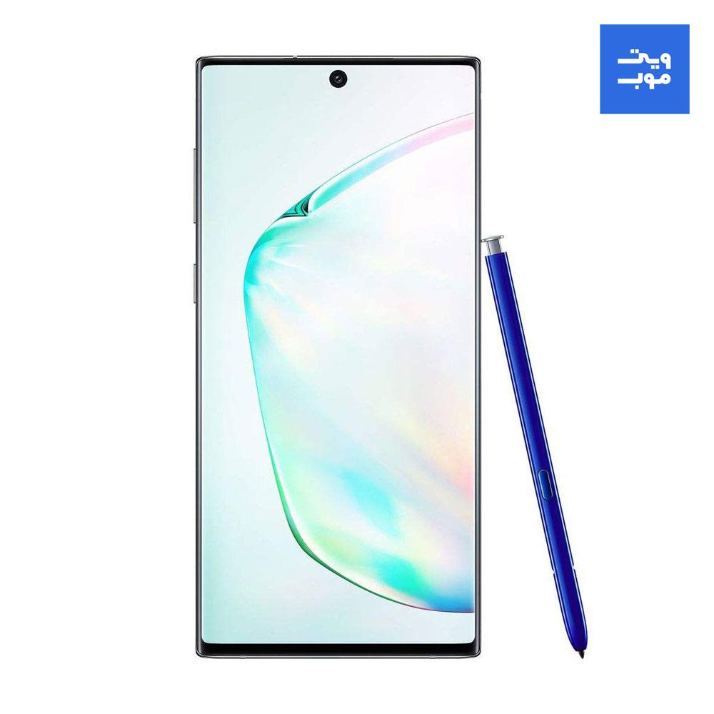 گوشی موبایل سامسونگ مدل Galaxy Note 10 Plus دو سیمکارت ظرفیت 256 گیگابایت