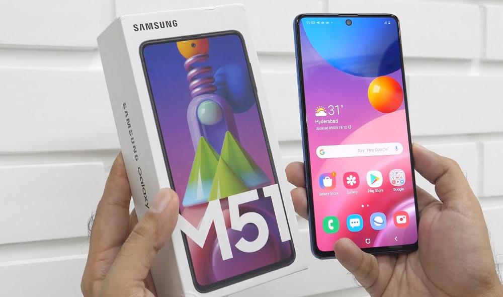 Samsung Galaxy M51 Detail 04
