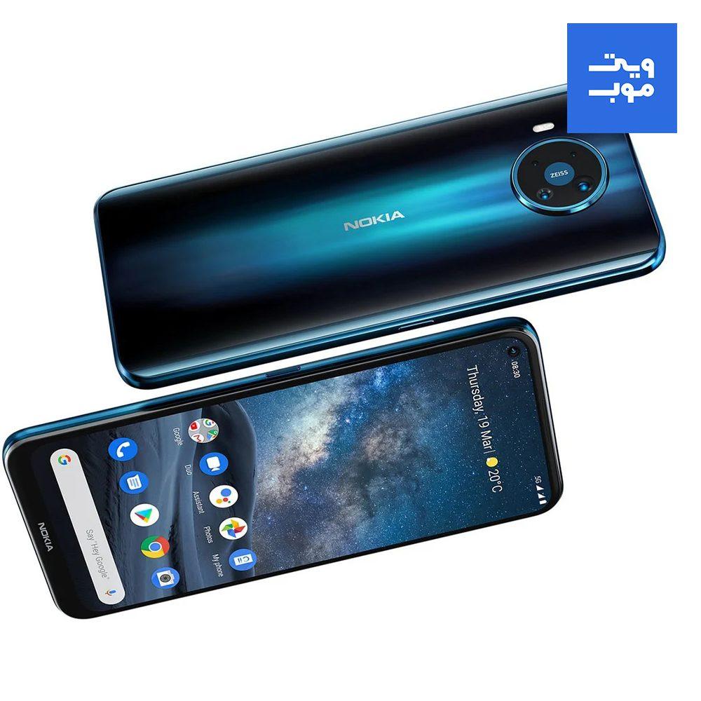 گوشی موبایل نوکیا مدل 8.3 ظرفیت 128 رم 8