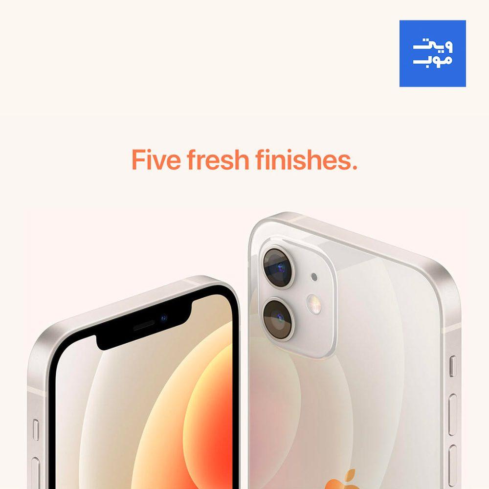 گوشی موبایل اپل مدل iPhone 12 ظرفیت 128 رم 4